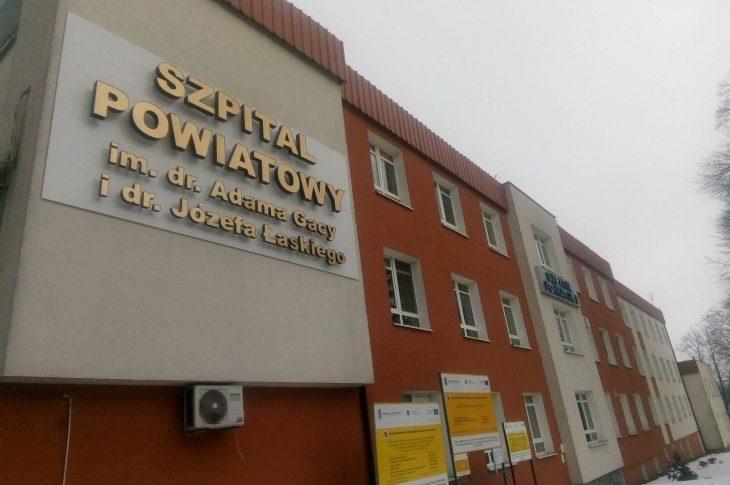 Szpital imienia UBowsca dr. Józefa Łaskiego w Więcborku – foto Tomasz Roman Bracka