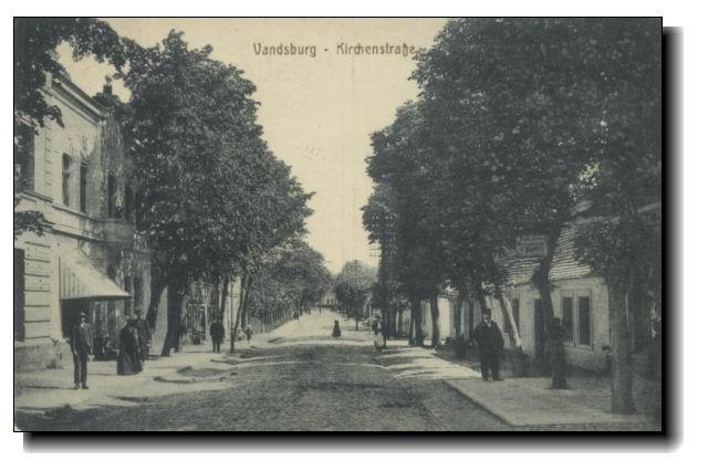 Więcbork obecna ulica Pocztowa.