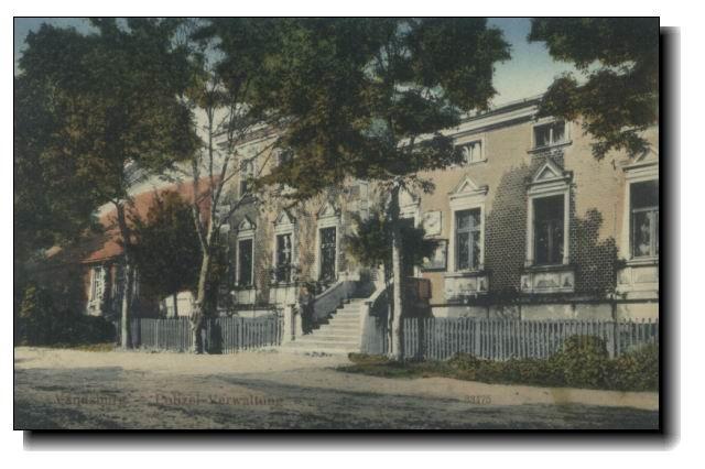 Komisariat Policji wWięcborku 1920 r.