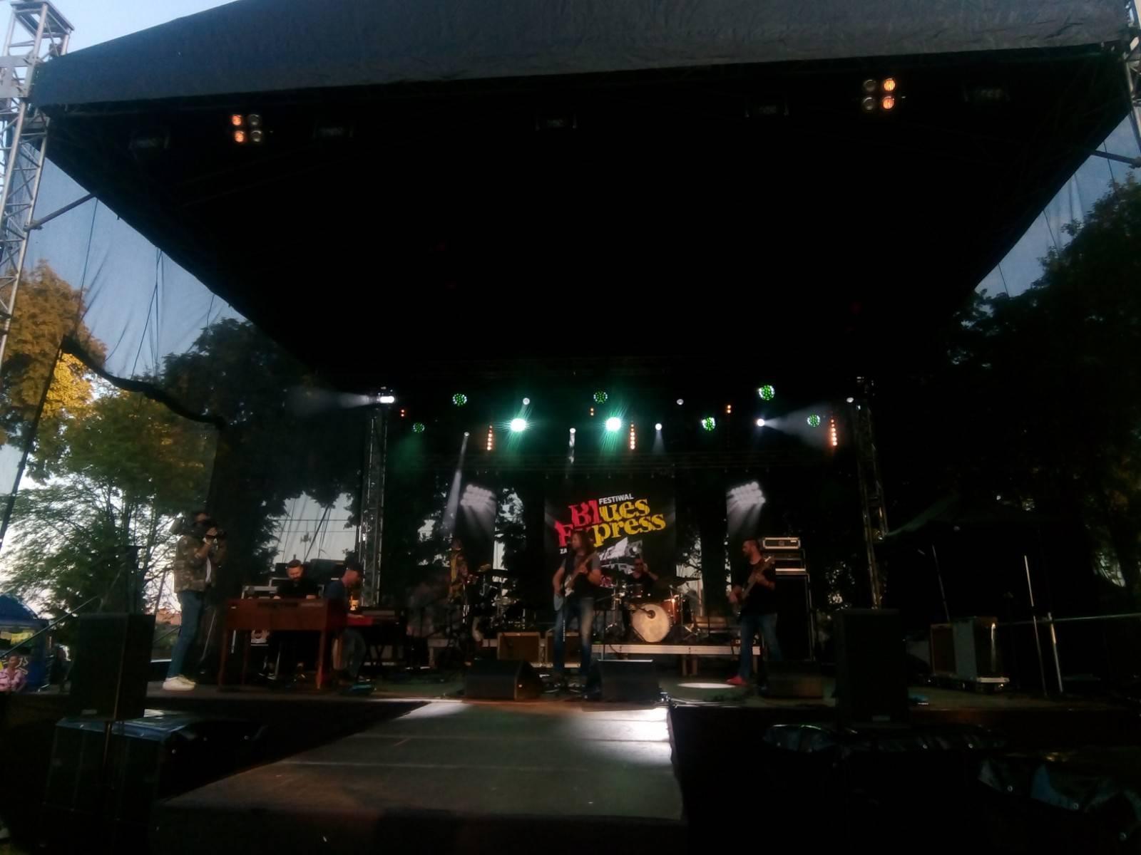 XIX Blues Express Festiwal Zakrzewo 2021 r. - foto - Tomasz Roman Bracka