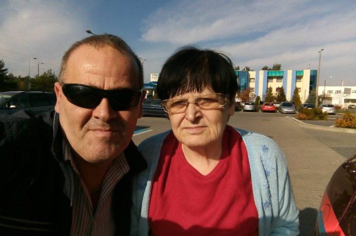 Na zdjęciu moja Mama Renata Bracka w świetnej formie i ja Tomasz Roman Bracka w Bydgoszczy w czerwcu 2020 r. na dwa miesiące przed śmiercią mojej Mamy !