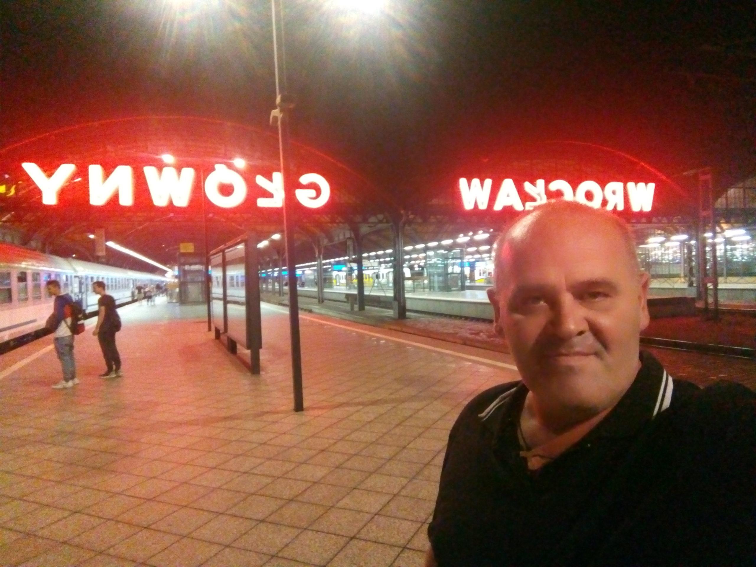 Stacja PKP Wrocław 23 sierpień 2021 r. - foto Tomasz Bracka